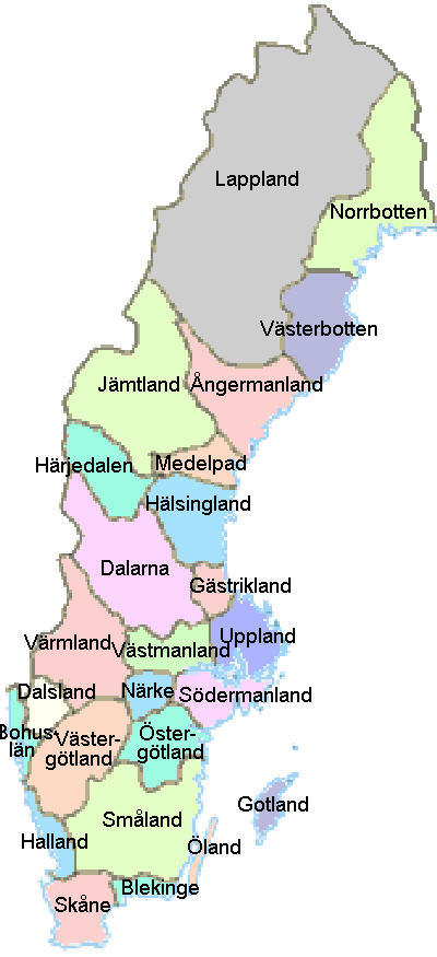 provinces-of-sweden-color