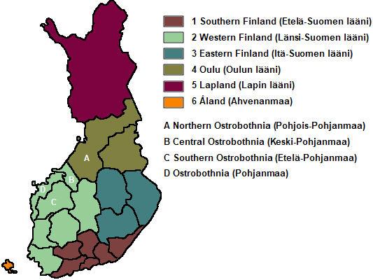 regions-of-finland